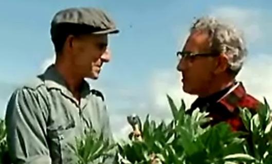 Gérard Savard (producteur) et Alphonse Gauthier (journaliste 1968 (source: Radio-Canada)