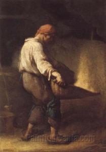 Le vanneur (Jean-François Millet 1848)
