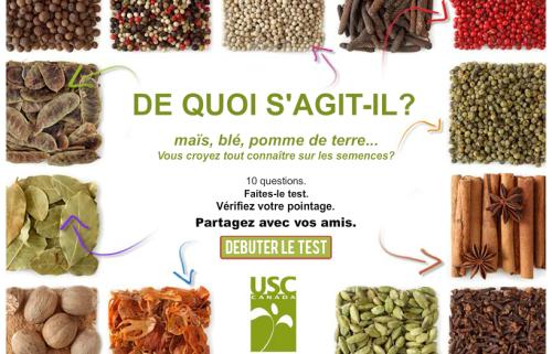 Test sur les semences
