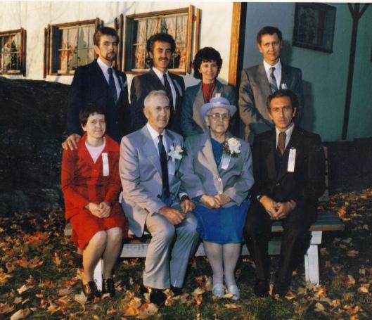 Famille Arbour (source: Maurice Arbour via Pierre Hamel) Date inconnue