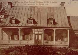 Même maison en 1850