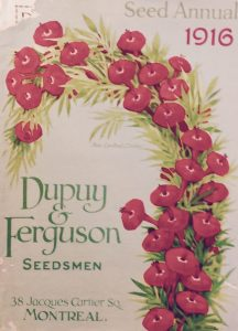 Catalogue Dupuy & Ferguson (1916)