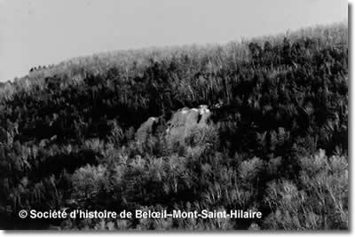 Le Cheval Blanc (source: société d'histoire de Beloeil - Mont-Saint-Hilaire)