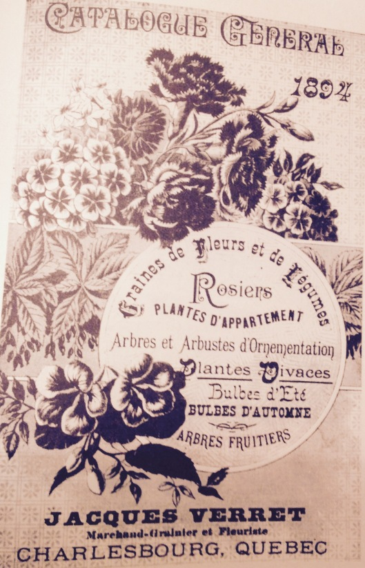Catalogue du magasin Verret 1894 (image: Mes souvenirs tome II 1883-1888).